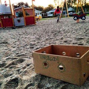 läsfrämjande i lekparken