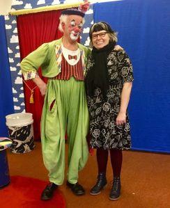 clownen manne och anette helgesson
